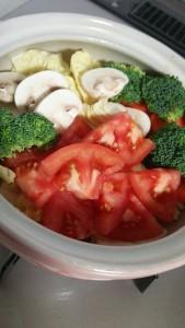 トマト鍋1